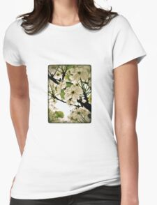 wednesday in the garden Womens Fitted T-Shirt