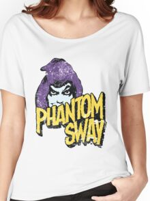 Phantom Sway Grunge Logo Women's Relaxed Fit T-Shirt