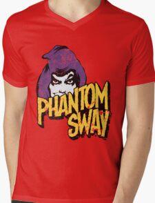 Phantom Sway Grunge Logo Mens V-Neck T-Shirt