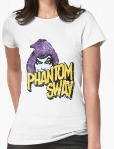 Phantom Sway Grunge Logo Womens Fitted T-Shirt