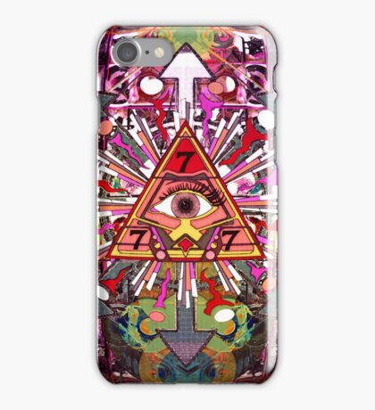 EYE CAN SEE IN ALL DIRECTIONS 1 iPhone Case/Skin