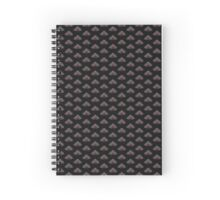 Catocala amatrix, the sweetheart underwing Spiral Notebook
