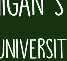 Michigan State Stamp Sticker
