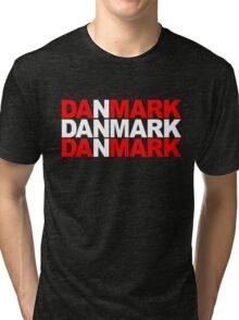 Danmark Tri-blend T-Shirt