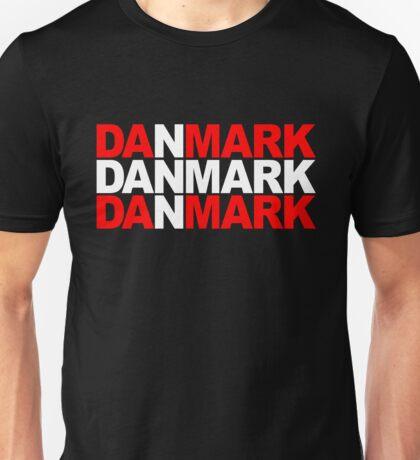 Danmark Unisex T-Shirt