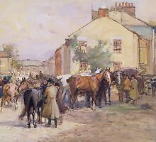 The Horse Fair by Bridgeman Art Library