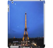 Eiffel night iPad Case/Skin