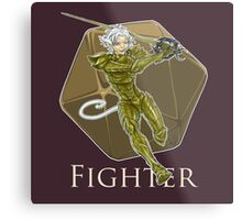 Dungeons and Dragons Fighter Metal Print