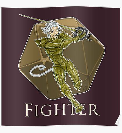 Dungeons and Dragons Fighter Poster