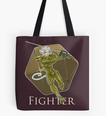 Dungeons and Dragons Fighter Tote Bag