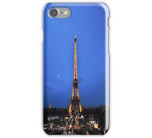 Eiffel night iPhone Case/Skin