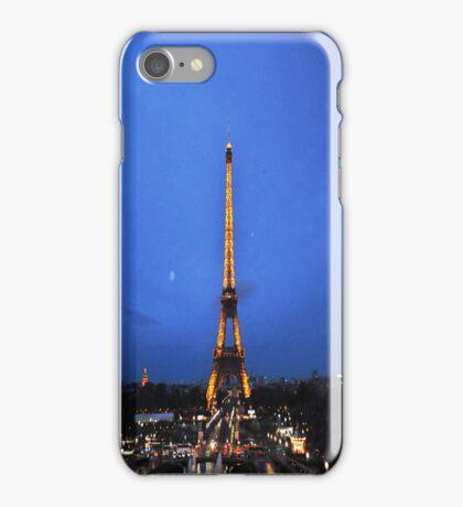 Eiffel night iPhone Case/Skin