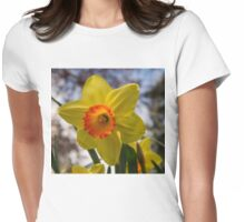 Happy Spring Blossom Womens Fitted T-Shirt