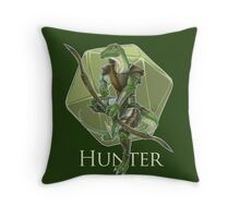 Dungeons And Dragons Hunter Throw Pillow