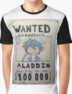 Wanted: Aladdin Graphic T-Shirt