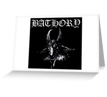 Bathory Greeting Card