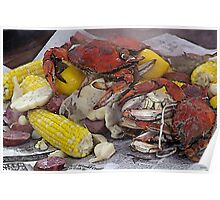 New Orleans Crab Boil Poster
