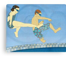 Jack Knife Pool Party Canvas Print