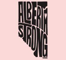 Alberta Strong (Black) One Piece - Long Sleeve