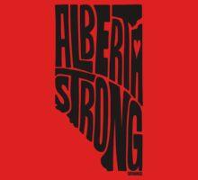 Alberta Strong (Black) One Piece - Short Sleeve