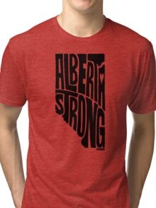 Alberta Strong (Black) Tri-blend T-Shirt
