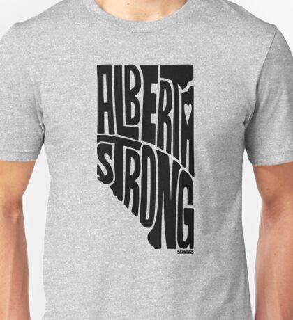 Alberta Strong (Black) Unisex T-Shirt