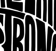 Alberta Strong (Black) Sticker