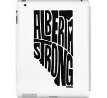 Alberta Strong (Black) iPad Case/Skin