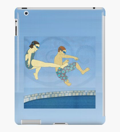 Jack Knife Pool Party iPad Case/Skin