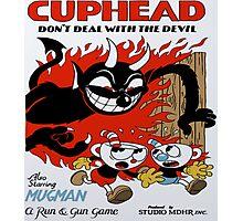 Cuphead Devil Photographic Print