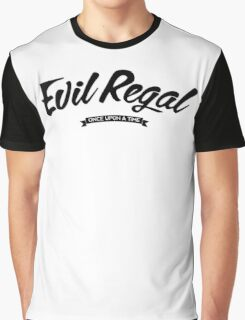 Once Upon a Time - Evil Regal - Dark Graphic T-Shirt