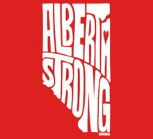 Alberta Strong (White) One Piece - Long Sleeve