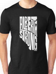 Alberta Strong (White) Unisex T-Shirt