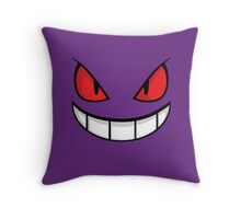 Gengar Throw Pillow