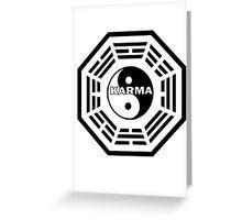 Karma Greeting Card