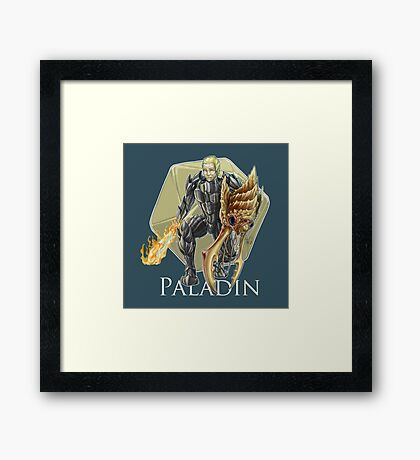 Dungeons and Dragons Paladin Framed Print