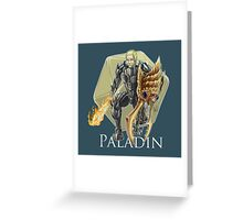 Dungeons and Dragons Paladin Greeting Card