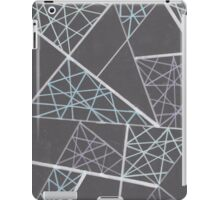 Caught in the web of lines iPad Case/Skin