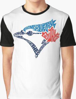 Toronto Blue Jays (Blue) Graphic T-Shirt