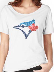 Toronto Blue Jays (Blue) Women's Relaxed Fit T-Shirt