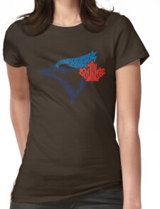 Toronto Blue Jays (Blue) Womens Fitted T-Shirt