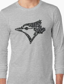 Toronto Blue Jays (black) Long Sleeve T-Shirt