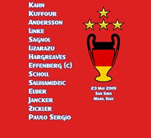 Bayern Munich 2001 Champions League Winners Unisex T-Shirt