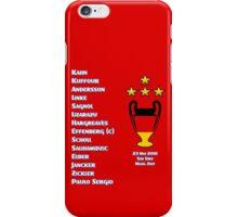 Bayern Munich 2001 Champions League Winners iPhone Case/Skin