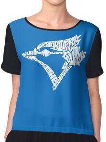 Toronto Blue Jays (white) Chiffon Top
