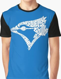Toronto Blue Jays (white) Graphic T-Shirt