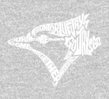 Toronto Blue Jays (white) One Piece - Long Sleeve