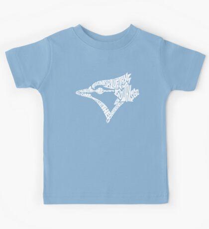 Toronto Blue Jays (white) Kids Tee