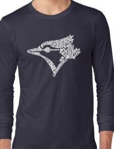 Toronto Blue Jays (white) Long Sleeve T-Shirt