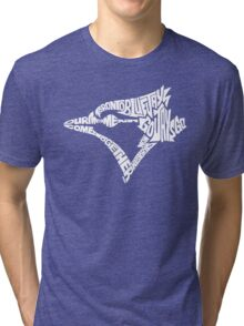 Toronto Blue Jays (white) Tri-blend T-Shirt